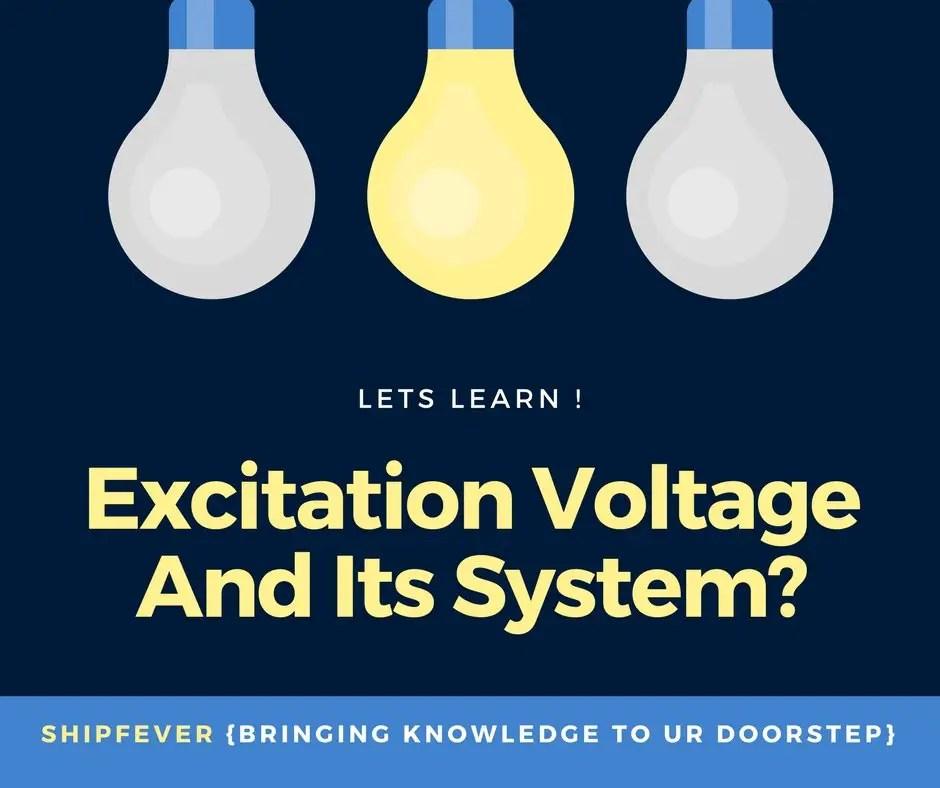Excitation Voltage – Definition, Types & Working