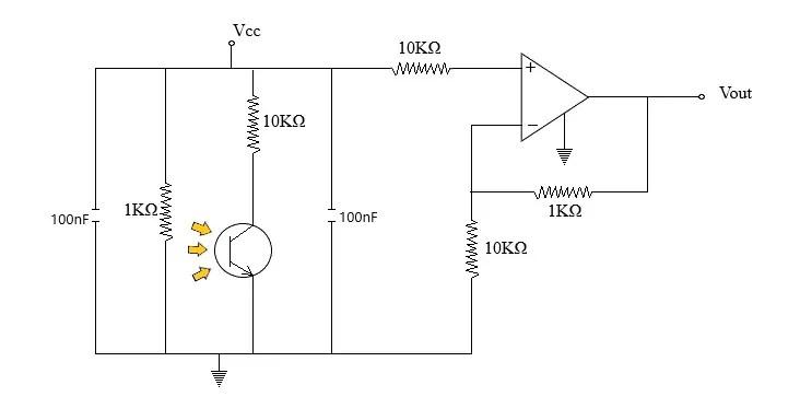 flame detector working circuit diagram