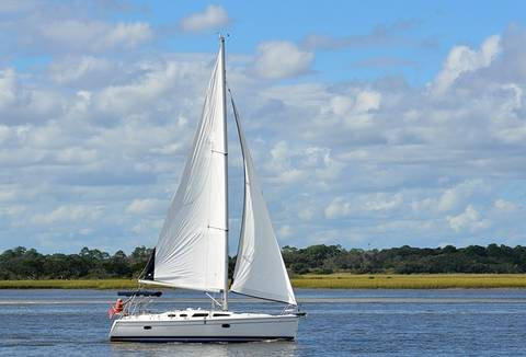 Diffrent Type Of Boat - A Sail Boat