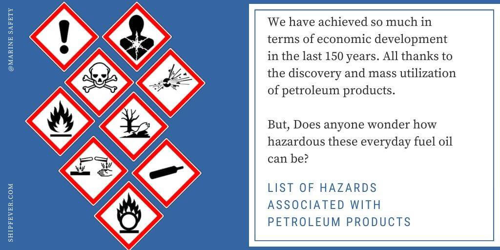 List of Hazards Associated With Petroleum Products