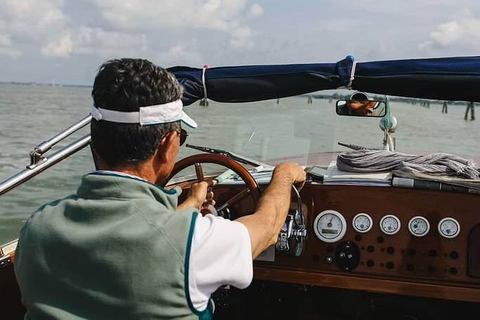How To Drive A Boat In Rough water?