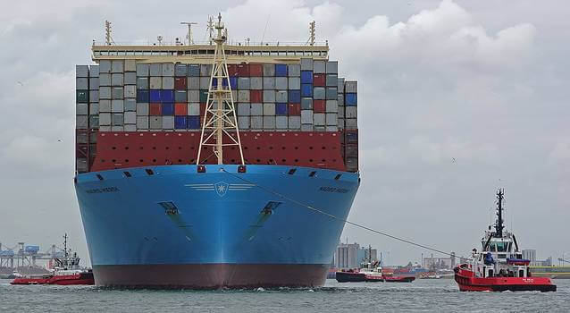 Madrid Maersk - Worlds largest container ships in maersk fleet