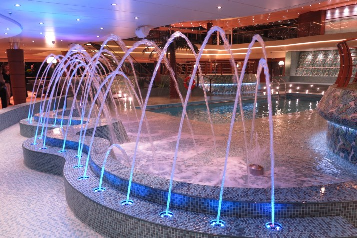 A water display