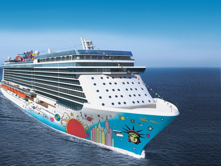 Ready for its maiden voyage - Breakaway (Picture: Norwegian Cruise Line)