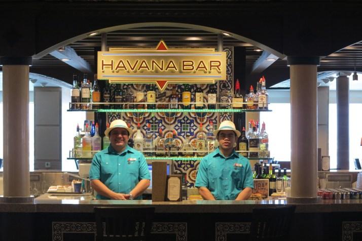 Cuban delights: The Havana bar