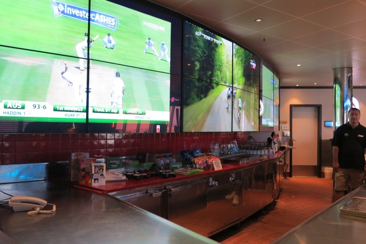 Game on: The EA Sports bar