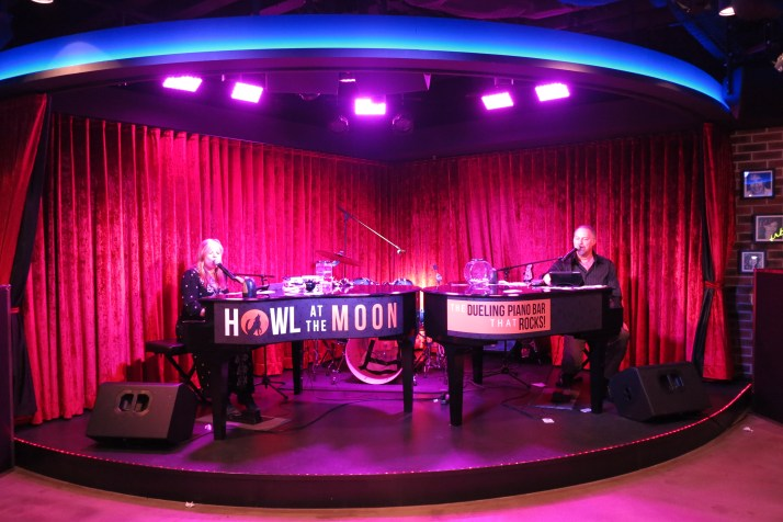 Piano forte: Duelling pianos in the Headliners Bar