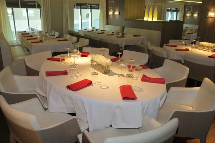 Haute cuisine: The main restaurant