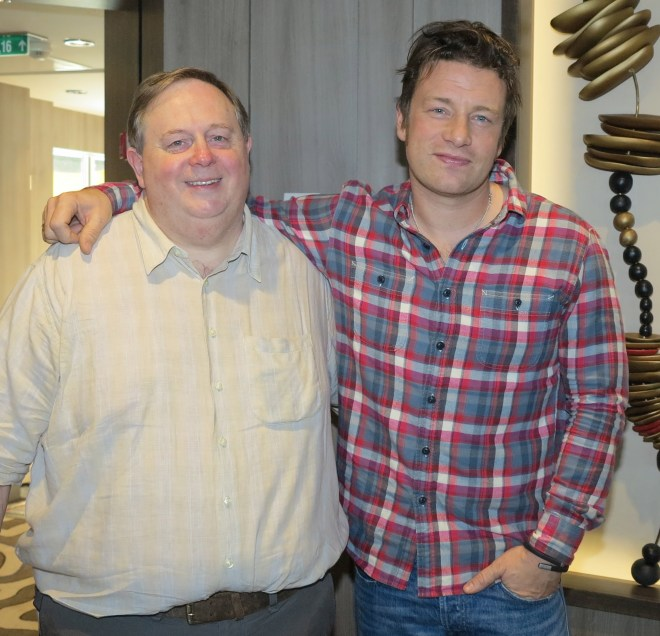 Talking Italian: Dave Monk with Jamie Oliver