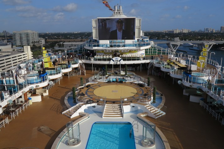 Captain's orders: Gavin MacLeod introduces a film about 50 years of Princess Cruises