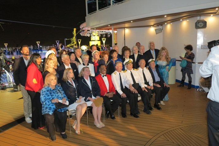 Team picture: The Love Boat cast with co-stars