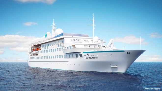 Your private yacht: The Crystal Esprit