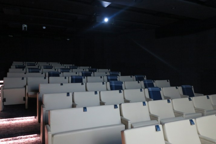 Big screen: The cinema