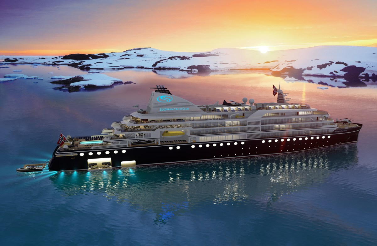 New ship for ultra-luxury line SeaDream Yacht Club will sail to all seven continents