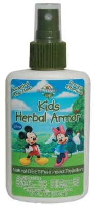 All Terrain Kids Herbal Armor DEET-Free Natural insect Repellent Spray 4-Oz. Pack of 2