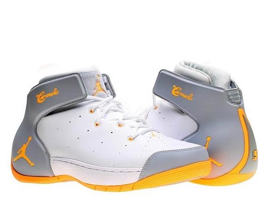 new arrival f452b f3e02 Nike Air Jordan Melo 1.5 Mens Basketball Shoes 631310-135 White 10.5 M US –  For Sale