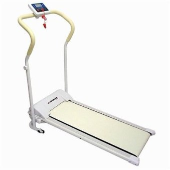 Confidence Power Plus Motorized Fitness Treadmill Running Machine in WHITE