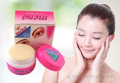 MENA Facial Cream Skin Whitening Bleaching Herbal Anti-Acne Dark Spot  Vitamin E – For Sale