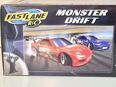 Fast Lane RC Monster Drift Racing Car RED Maisto Radio Remote Control