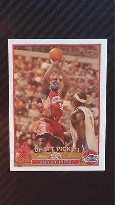 2003 2004 Topps Chrome Lebron James 111 Rookie Card For Sale