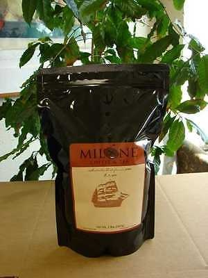 Milone Brothers fresh roasted Decaf coffee Premium French Roast 2 lbs