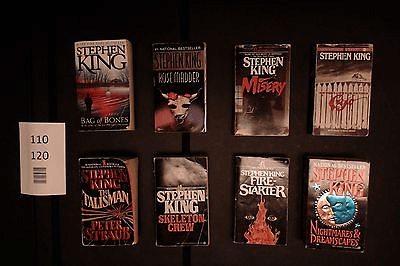 Lot of 8 Novels by Stephen King (Paperback) #120 – For Sale