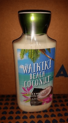1 Bath And Body Works Waikiki Beach Coconut Body Lotion 8 Oz