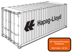Image for 20' container