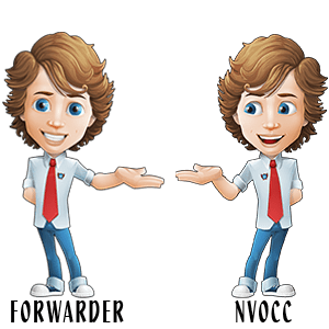 Difference between Freight Forwarder and NVOCC