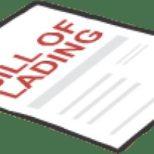 bl - Number of original bills of lading