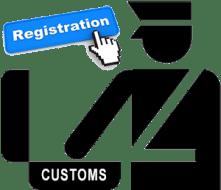 Image for customs reg