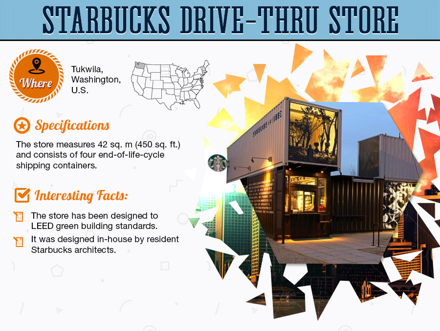 starbucks - Outside the Box: The Shipping Container Revolution