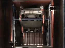 Image for car in container