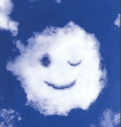Smiley cloud