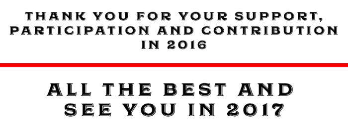 see you 2017 - 2016, a review of the year that was, for shipping and freight