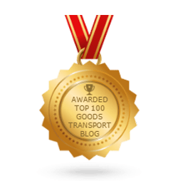 Awarded one of the Top 100 Goods Transport Blogs on the web