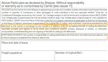 What is a Switch Bill of Lading and when and why is it used  ??