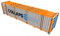 collapsecon - collapsible container - empty container crisis - shipping and freight resource