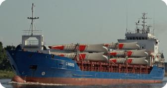 ギアレスブレークバルク船-バルクおよびブレークバルク