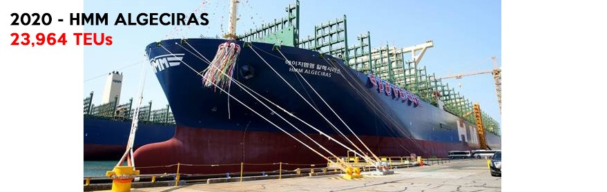 largest container vessel on earth - ULCV