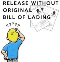 cargo release without original bill of lading