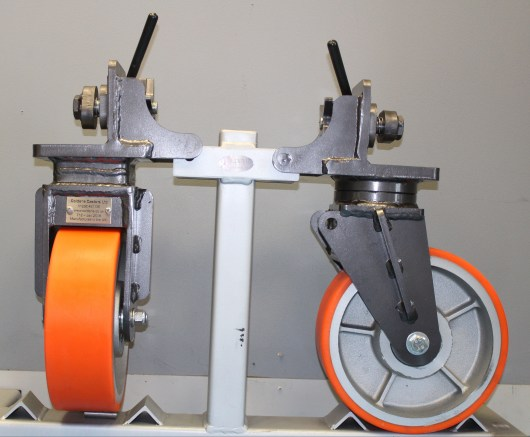 Coldene Castors Container castors for towing containers