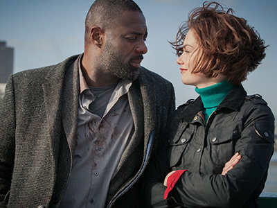 John Luther and Alice Morgan in Luther