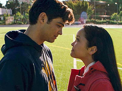 Lara Jean and Peter in To All the Boys I've Loved Before