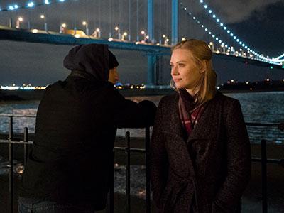 Frank and Karen talk in The Punisher season 1