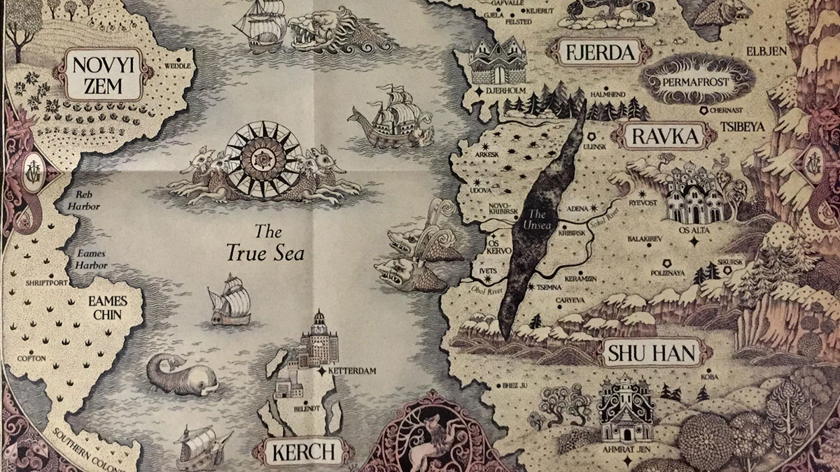 Grishaverse map