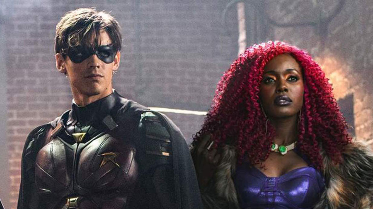 Dick and Kory in DC's Titans
