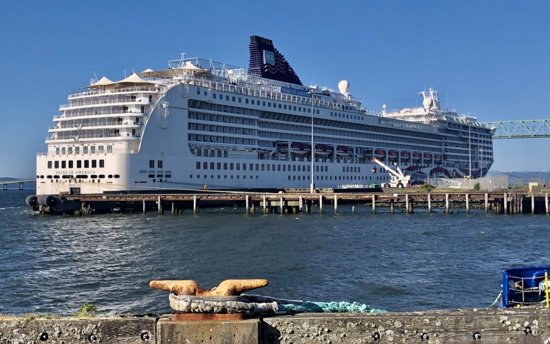 The cruise ship Pride of America is in Astoria today: here's why