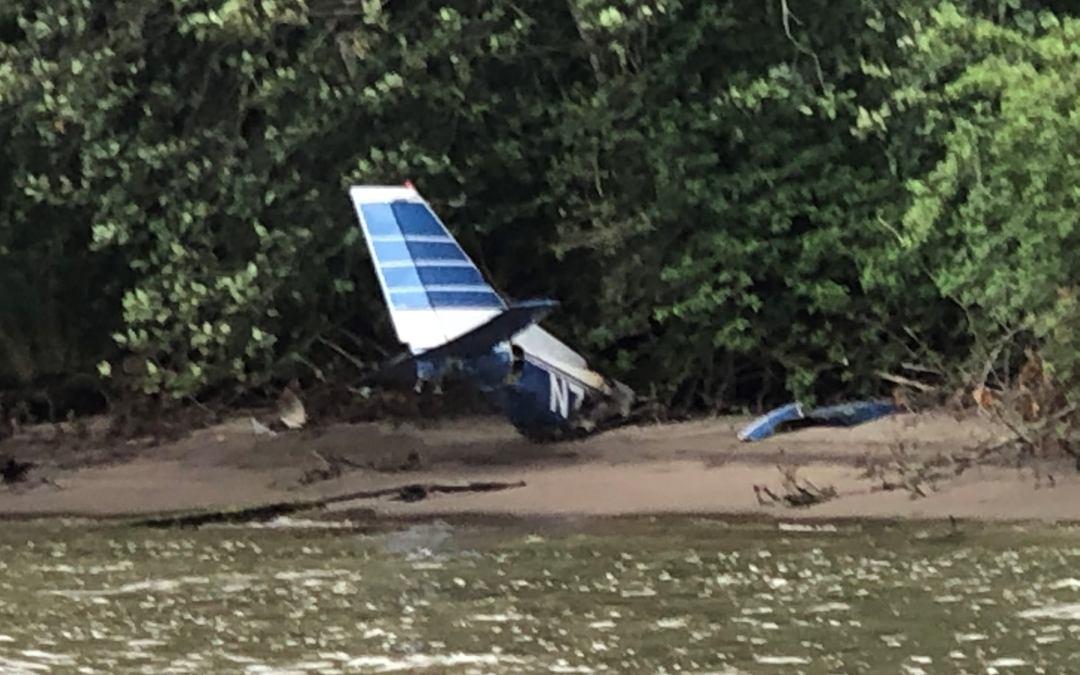 Plane crash debris prompts USCG search and rescue effort