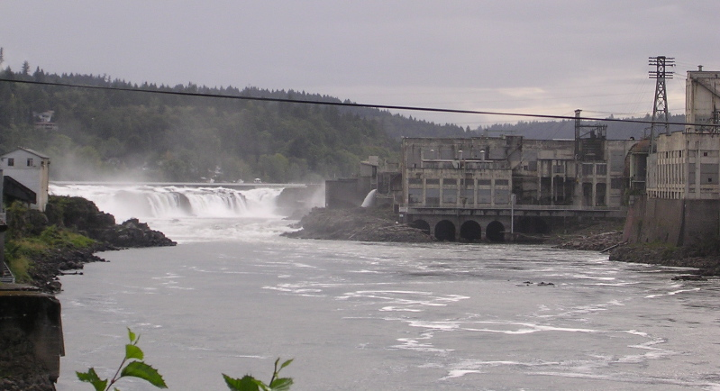 Confederated Tribes of Grande Ronde purchase Willamette Falls